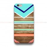 Wooden Geometric Tosca  iPhone Custom Cover Hard Cases