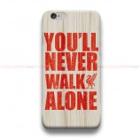 Liverool You'll Never Walk Alone  iPhone Custom Cover Hard Cases