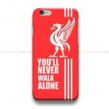 You'll Never Walk Alone Red iPhone Custom Cover Hard Cases