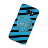 Arsenal FC Logo Striped Samsung Galaxy Cover Hard Case
