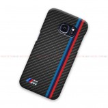 BMW Logo Striped On Carbon Samsung Galaxy Cover Hard Case