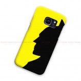 Batman Black Yellow Samsung Galaxy Cover Hard Case