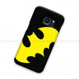 Batman Logo Black Yellow Samsung Galaxy Cover Hard Case