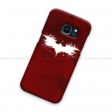 Batman Logo Red Samsung Galaxy Cover Hard Case