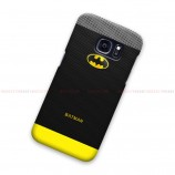 Batman On Fiber Pattern 2 Samsung Galaxy Cover Hard Case