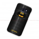 Batman On Fiber Pattern Samsung Galaxy Cover Hard Case