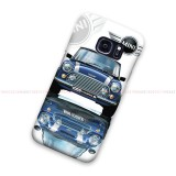 Blue Mini Cooper Galaxy Cover Hard Case
