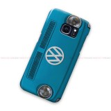 Blue VW Samsung Galaxy Cover Hard Case