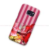 Botanica Pink Striped Samsung Galaxy Cover Hard Case