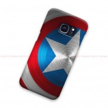 Captain America Shield Blue Samsung Galaxy Cover Hard Case
