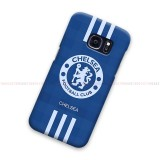 Chelsea FC Logo Striped Samsung Galaxy Cover Hard Case