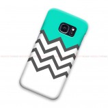 Chevron Tosca White Samsung Galaxy Cover Hard Case