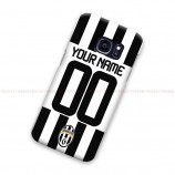 Custom Name And Number Juventus Jersey 2 Samsung Galaxy Cover Hard Case