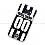 Custom Name And Number Juventus Jersey Samsung Galaxy Cover Hard Case