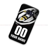 Custom Name And Number Juventus Samsung Galaxy Cover Hard Case