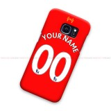 Custom Name And Number Liverpool FC EPL Samsung Galaxy Cover Hard Case