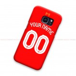 Custom Name And Number Liverpool FC UCL Samsung Galaxy Cover Hard Case