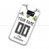 Custom Name And Number Real Madirid FC Samsung Galaxy Cover Hard Case