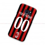Custom Name Number AC Milan Samsung Galaxy Cover Hard Case