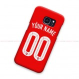 Custom Name Number Arsenal UCL Samsung Galaxy Cover Hard Case