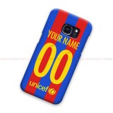 Custom Name Number FC Barcelona 2016 Samsung Galaxy Cover Hard Case