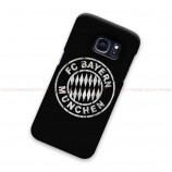 FC Bayern Munchen Black Samsung Galaxy Cover Hard Case