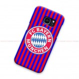 FC Bayern Munchen Striped Samsung Galaxy Cover Hard Case