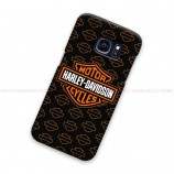 Harley Davidson Logo Pattern Samsung Galaxy Cover Hard Case
