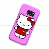 Helloo Kitty Pink Samsung Galaxy Cover Hard Case