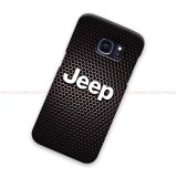 Jeep Logo On Carbon Samsung Galaxy Cover Hard Case