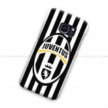 Juventus Logo Black Stripe Samsung Galaxy Cover Hard Case