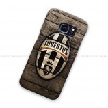 Juventus Logo On Vintage Wood Samsung Galaxy Cover Hard Case