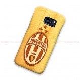 Juventus Logo On Wood Samsung Galaxy Cover Hard Case