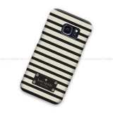Kate Spade Striped Logo Samsung Galaxy Cover Hard Case