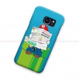 Mario Bross Reading Samsung Galaxy Cover Hard Case