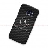 Mercedes Benz Logo On Carbon Samsung Galaxy Cover Hard Case