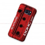 Mitsubishi Red Cover Engine Samsung Galaxy Cover Hard Case