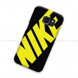 Nike Yellow Samsung Galaxy Cover Hard Case