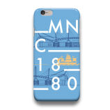 Manchester City  IDC08 iPhone Custom Cover Hard Case
